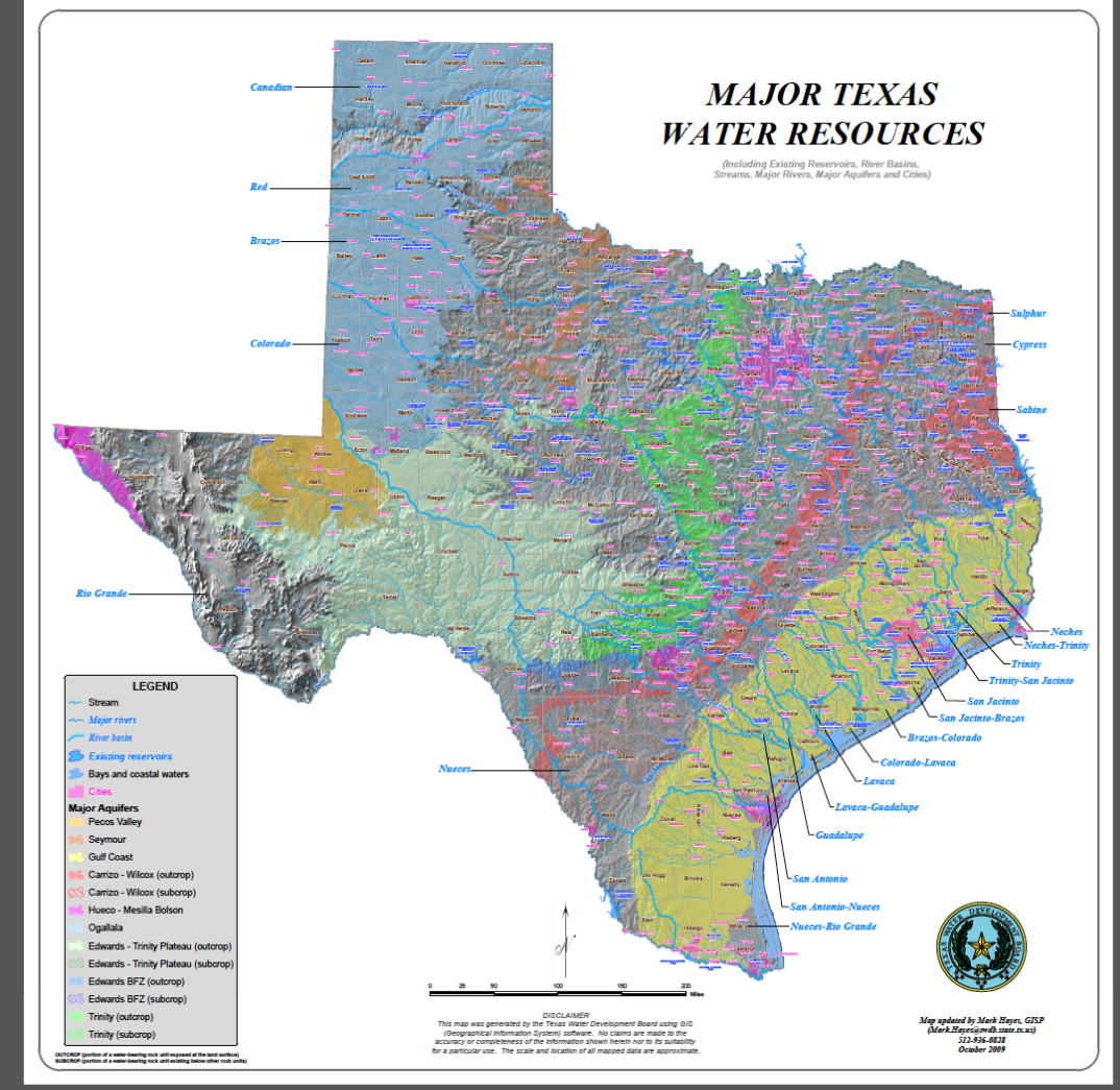 Groundwater In Texas  Only In It For The Gold
